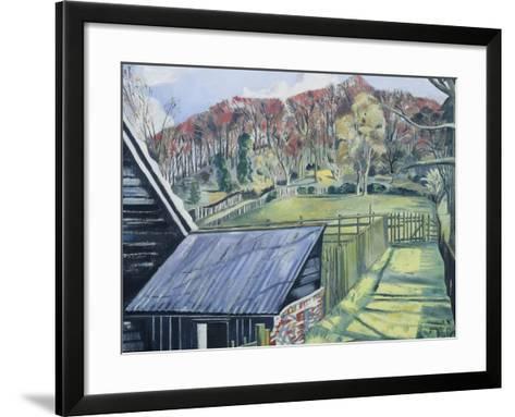 Behind the Inn-Paul Nash-Framed Art Print