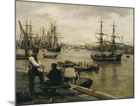 The Pool of London-Matthew White Ridley-Mounted Giclee Print