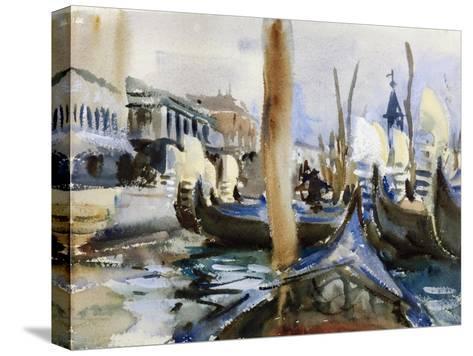 Riva Degli Schiavoni, Venice-John Singer Sargent-Stretched Canvas Print