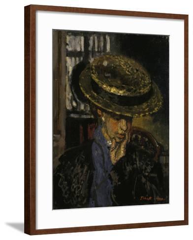 L'Américaine-Walter Richard Sickert-Framed Art Print