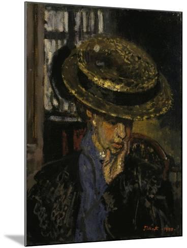 L'Américaine-Walter Richard Sickert-Mounted Giclee Print