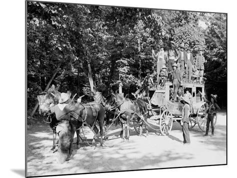 Niagara Falls, June 23D, 1898, Pawnee Bills Wild West Co.--Mounted Photo