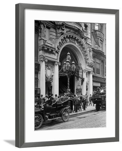 Entrance to Keiths Theatre, Philadelphia, Pa.--Framed Art Print