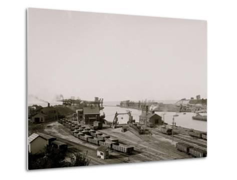 Harbor Entrance, Conneaut, Ohio--Metal Print