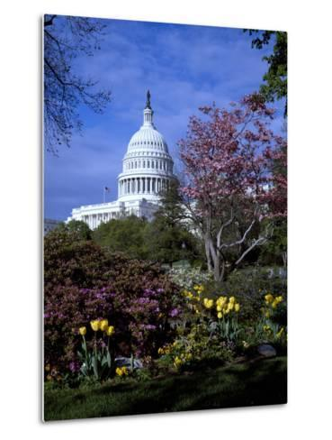 United States Capitol Building - Houses of Congress-Carol Highsmith-Metal Print