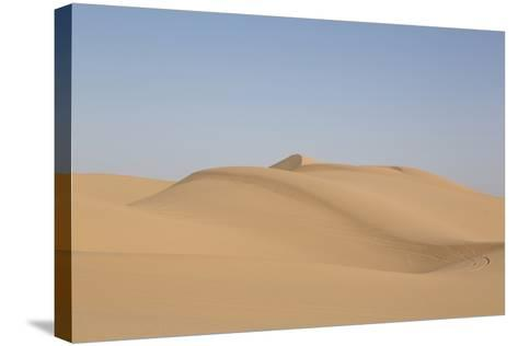 Sand Dunes in Southern California-Carol Highsmith-Stretched Canvas Print