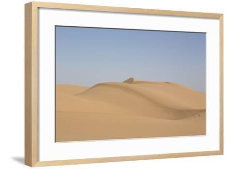 Sand Dunes in Southern California-Carol Highsmith-Framed Art Print