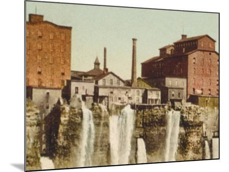 Niagara, Mills on American Shore--Mounted Photo