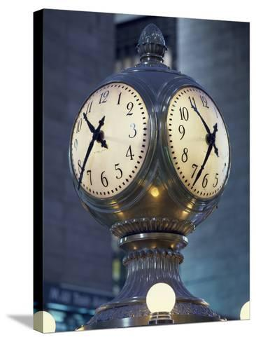 Clock-Carol Highsmith-Stretched Canvas Print