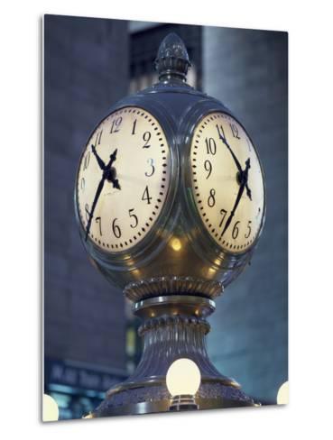 Clock-Carol Highsmith-Metal Print