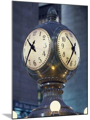 Clock-Carol Highsmith-Mounted Photo
