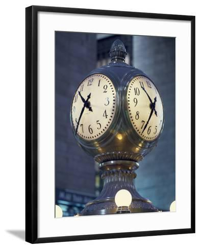 Clock-Carol Highsmith-Framed Art Print