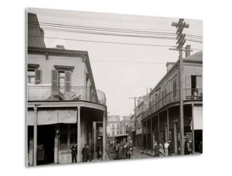 Italian Headquarters, Madison St., New Orleans, La.--Metal Print