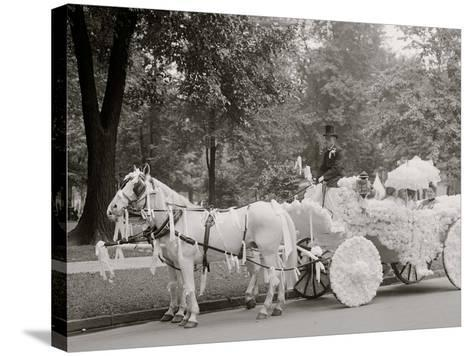 Bi-Centenary Celebration, Floral Parade, Ladies of the Maccabees, Detroit, Mich.--Stretched Canvas Print