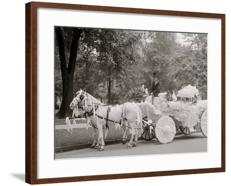 Bi-Centenary Celebration, Floral Parade, Ladies of the Maccabees, Detroit, Mich.--Framed Art Print