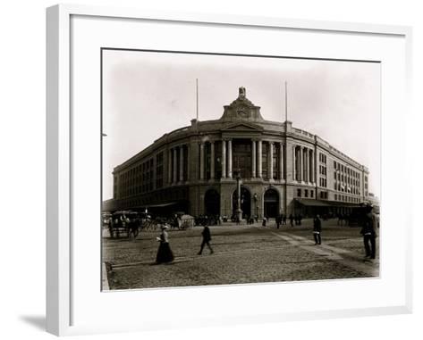 South Terminal Station--Framed Art Print