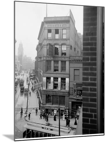 Library Park, Gratiot Avenue Farmer Street, Detroit, Mich.--Mounted Photo