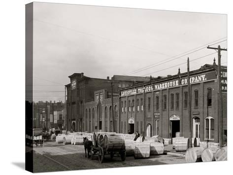 A Tobacco Warehouse, Louisville, Ky.--Stretched Canvas Print
