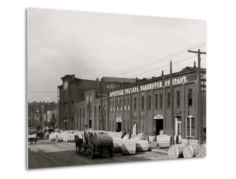 A Tobacco Warehouse, Louisville, Ky.--Metal Print