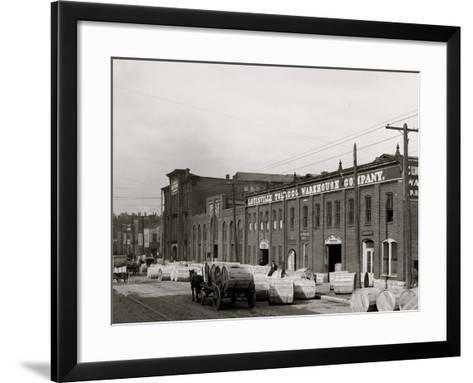 A Tobacco Warehouse, Louisville, Ky.--Framed Art Print