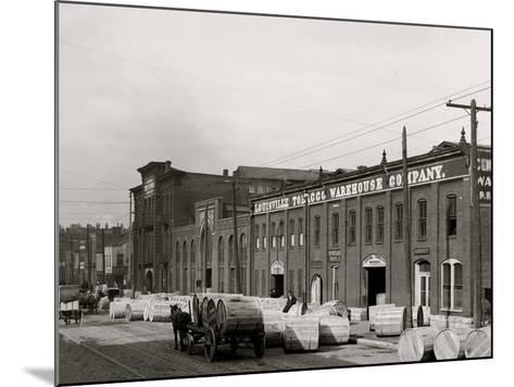 A Tobacco Warehouse, Louisville, Ky.--Mounted Photo