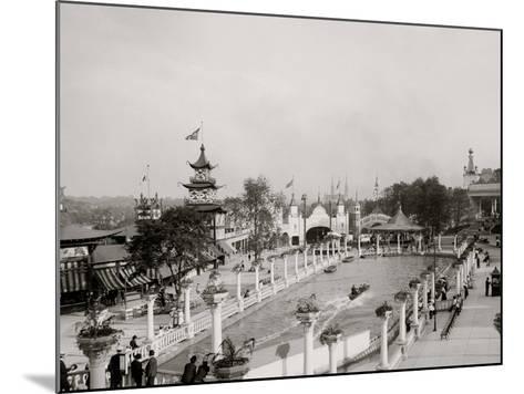 Luna Park, Pittsburg, PA--Mounted Photo
