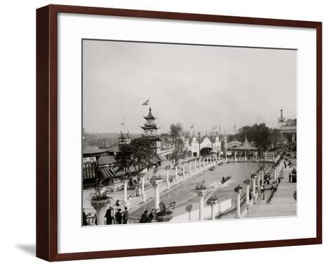 Luna Park, Pittsburg, PA--Framed Art Print