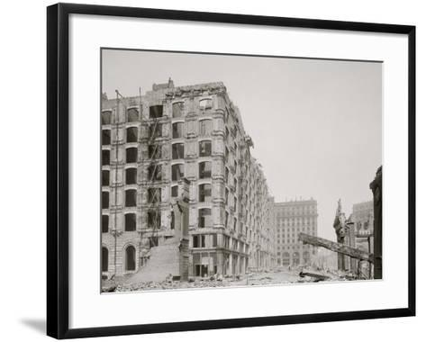 Palace Hotel, New Montgomery St., San Francisco, Cal.--Framed Art Print