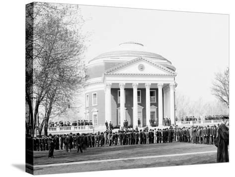 Inauguration Day, University of Virginia--Stretched Canvas Print