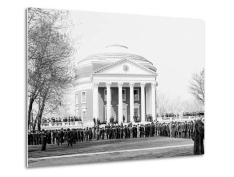 Inauguration Day, University of Virginia--Metal Print