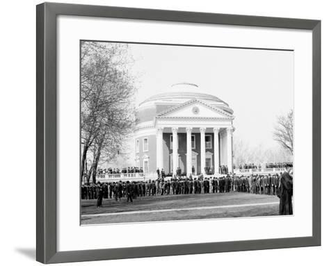 Inauguration Day, University of Virginia--Framed Art Print