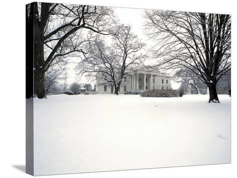 White House Presidential Mansion-Carol Highsmith-Stretched Canvas Print