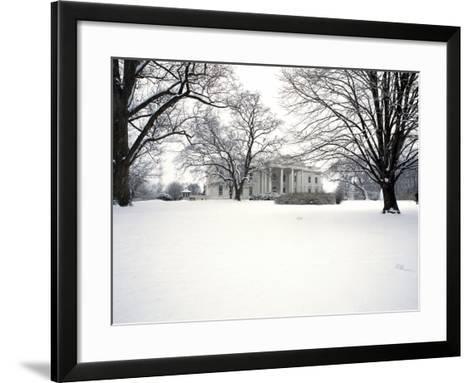 White House Presidential Mansion-Carol Highsmith-Framed Art Print