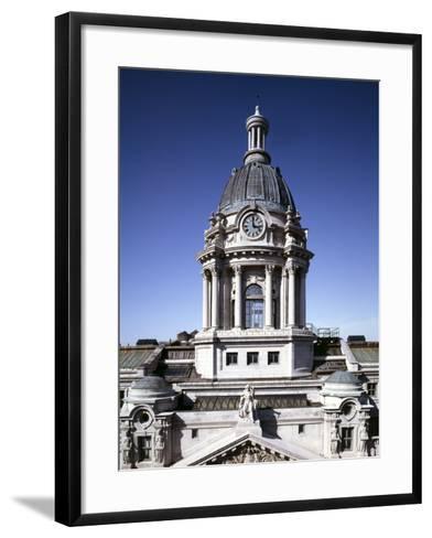 Police Headquarters-Carol Highsmith-Framed Art Print