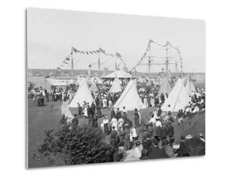Indian Village, Saint Marys Sic Canal Celebration, Sault Ste. Marie, Mich.--Metal Print