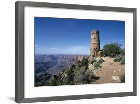 Desert View Watchtower, South Rim - Grand Canyon-Carol Highsmith-Framed Art Print