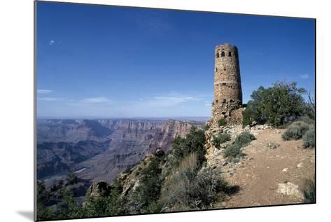 Desert View Watchtower, South Rim - Grand Canyon-Carol Highsmith-Mounted Photo