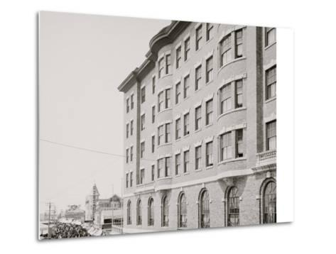Youngs Hotel and Boardwalk, Atlantic City, N.J.--Metal Print