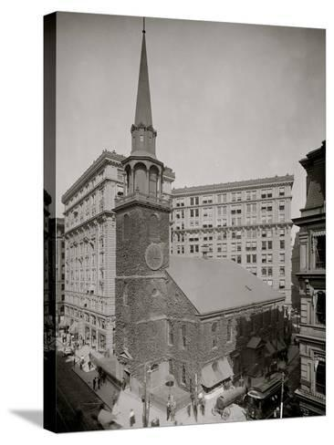 Old South Meeting House and Old South Building, Boston, Mass.--Stretched Canvas Print
