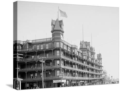 Hotel Velvet, Old Orchard, Maine--Stretched Canvas Print