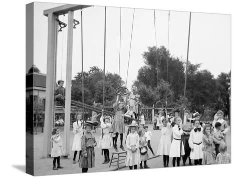 Girls Playground, Harriet Island, St. Paul, Minn.--Stretched Canvas Print