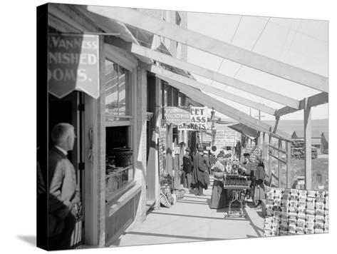 The Midway, Petoskey, Mich.--Stretched Canvas Print