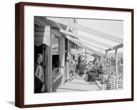 The Midway, Petoskey, Mich.--Framed Art Print
