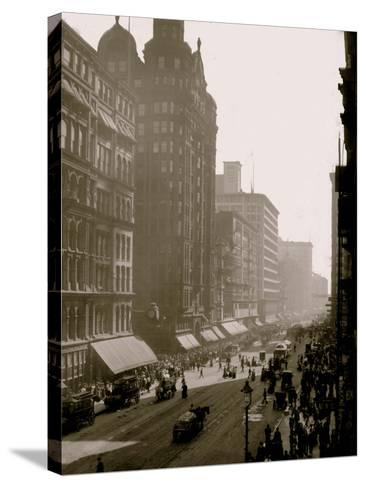 State Street, Chicago, Ill.--Stretched Canvas Print
