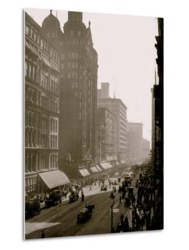 State Street, Chicago, Ill.--Metal Print