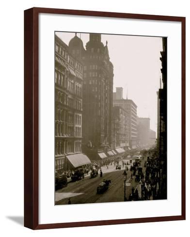 State Street, Chicago, Ill.--Framed Art Print