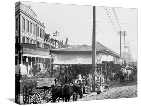 French Market, New Orleans, La.--Stretched Canvas Print