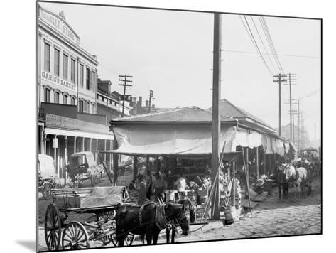 French Market, New Orleans, La.--Mounted Photo