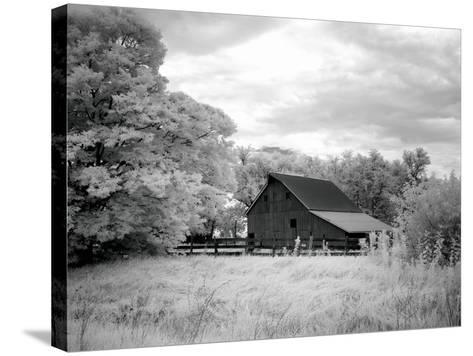 Barn, Route 66-Carol Highsmith-Stretched Canvas Print