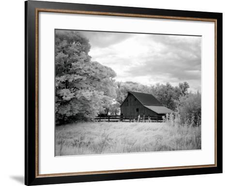 Barn, Route 66-Carol Highsmith-Framed Art Print